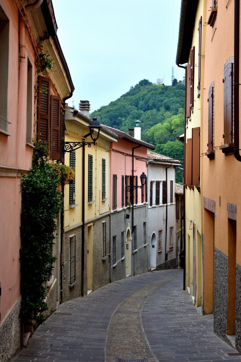 Il centro storico di Bertinoro