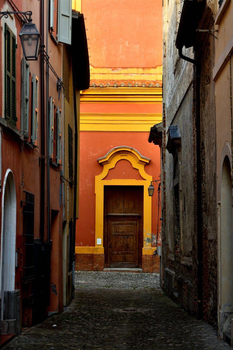 Vicoletto del centro storico di Brisighella
