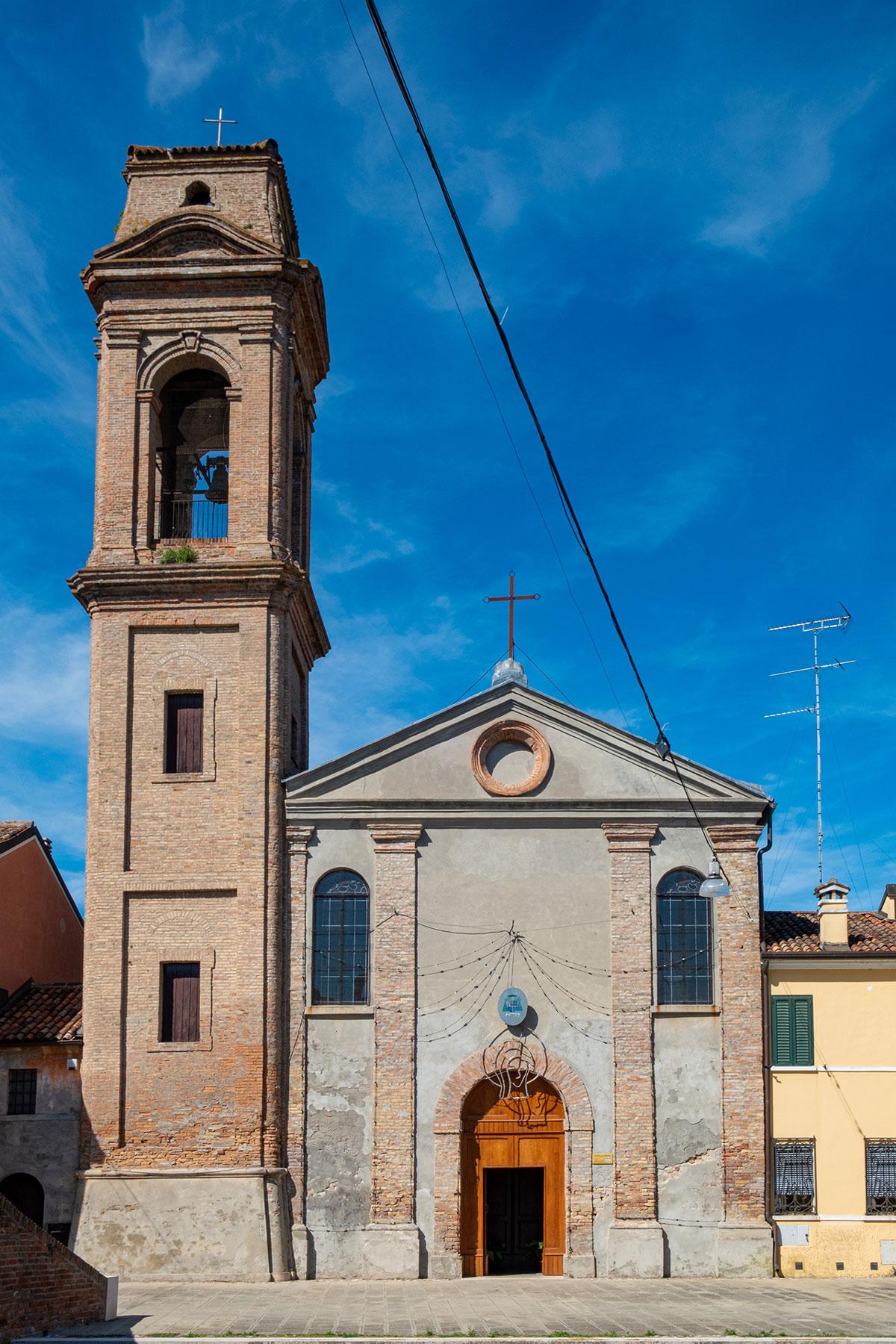 Campanile Chiesa del Carmine - Comacchio