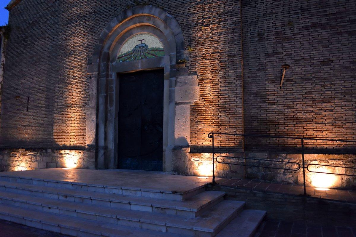 Ingresso della Chiesa di San Matteo Apostolo