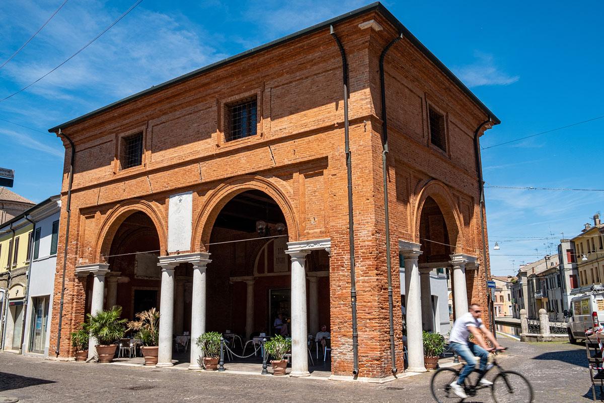 La Loggia dei Mercanti di Comacchio