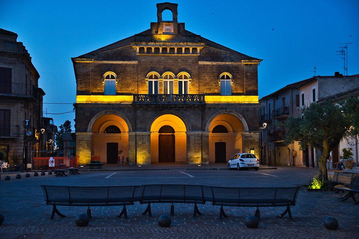 Il Palazzo Municipale di Rocca San Giovanni