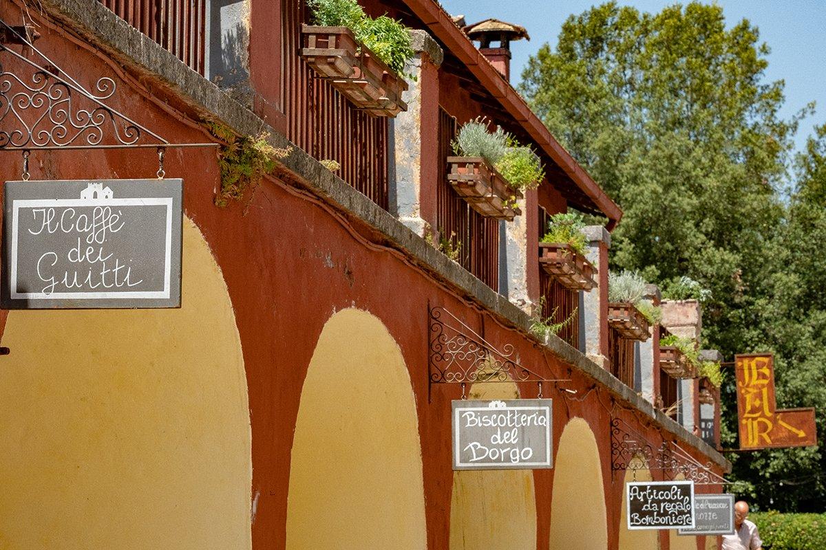 Il borgo dell'Abbazia