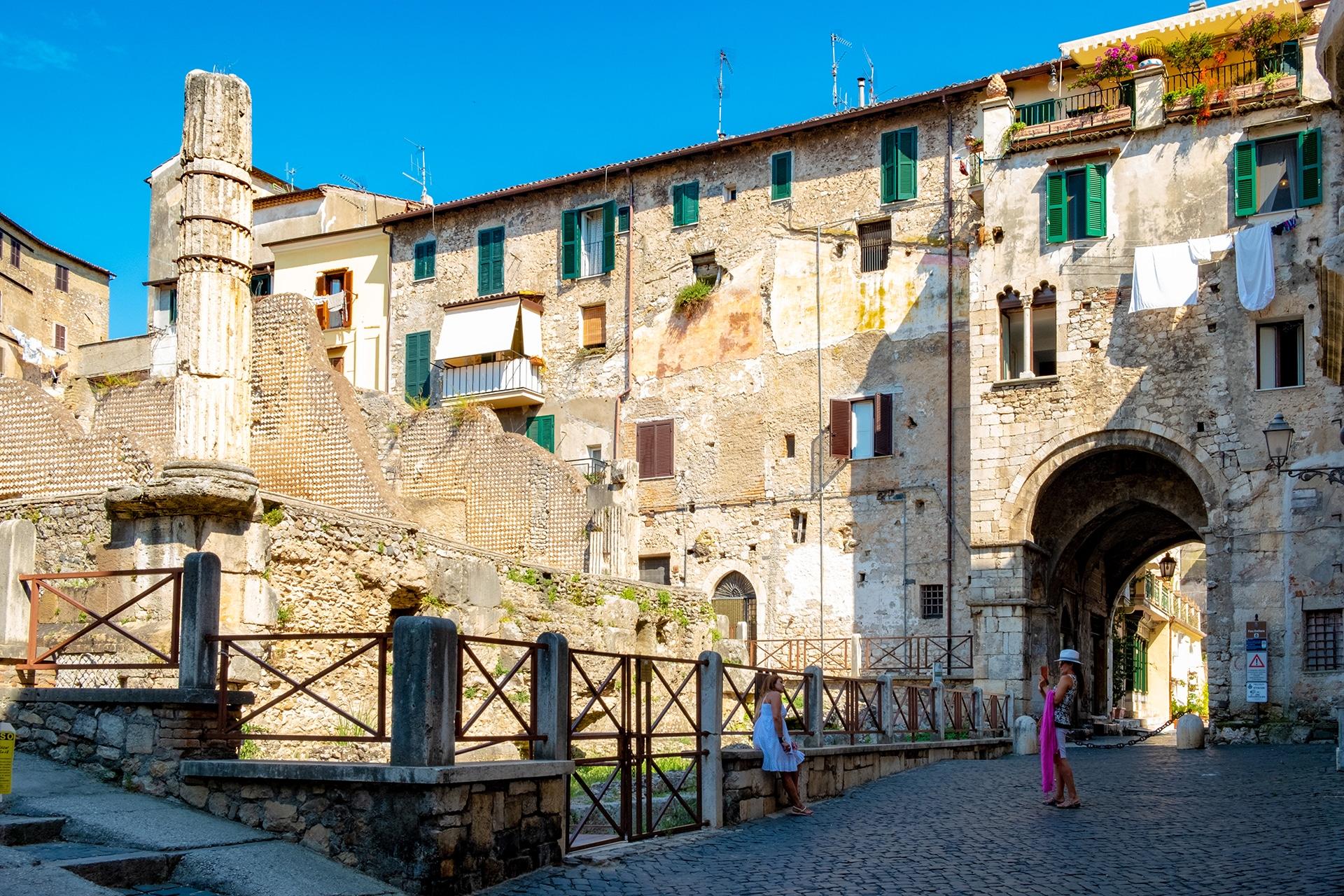 Il Capitolium di Terracina