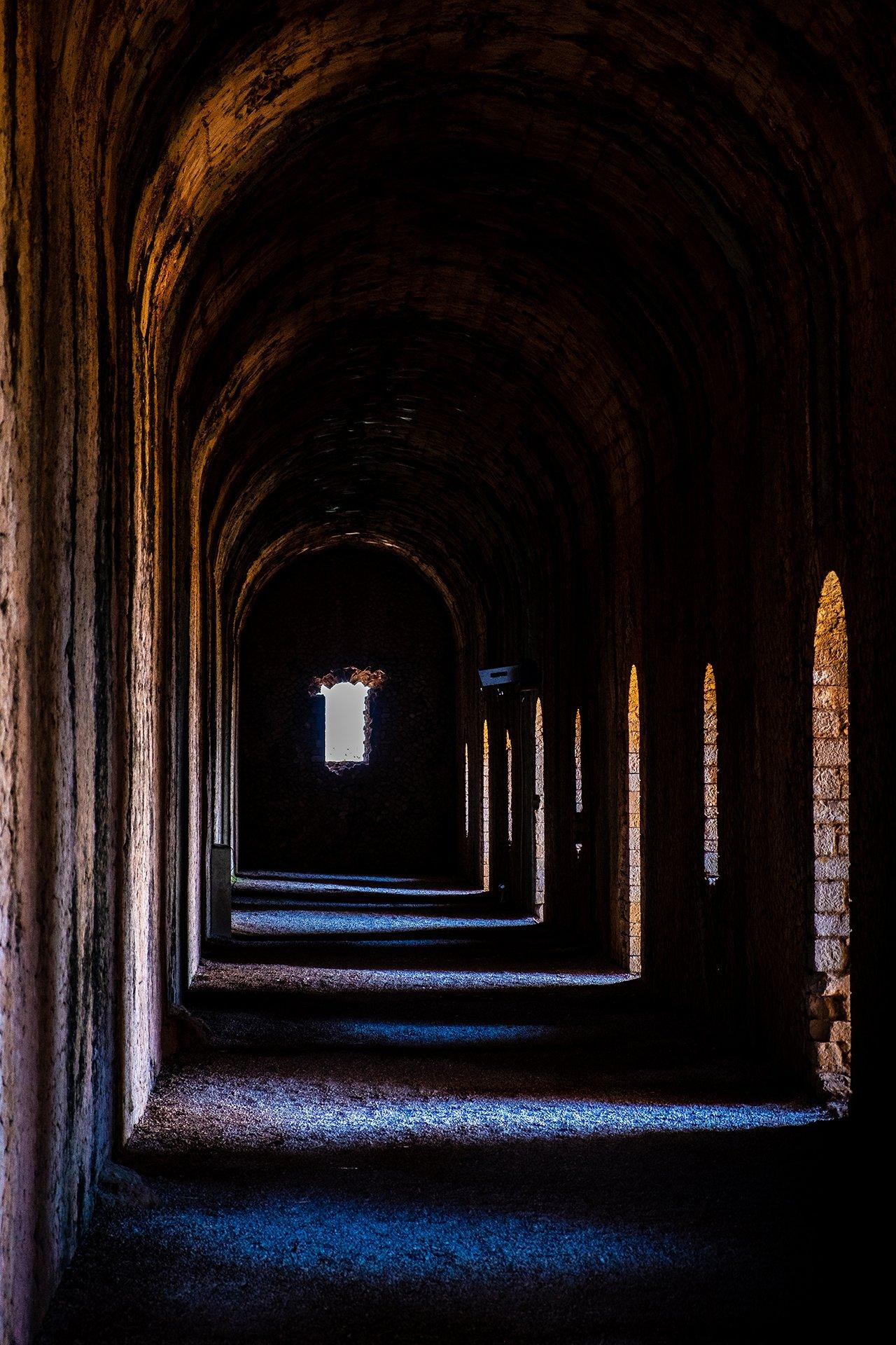 Corridoio Tempio di Giove Terracina