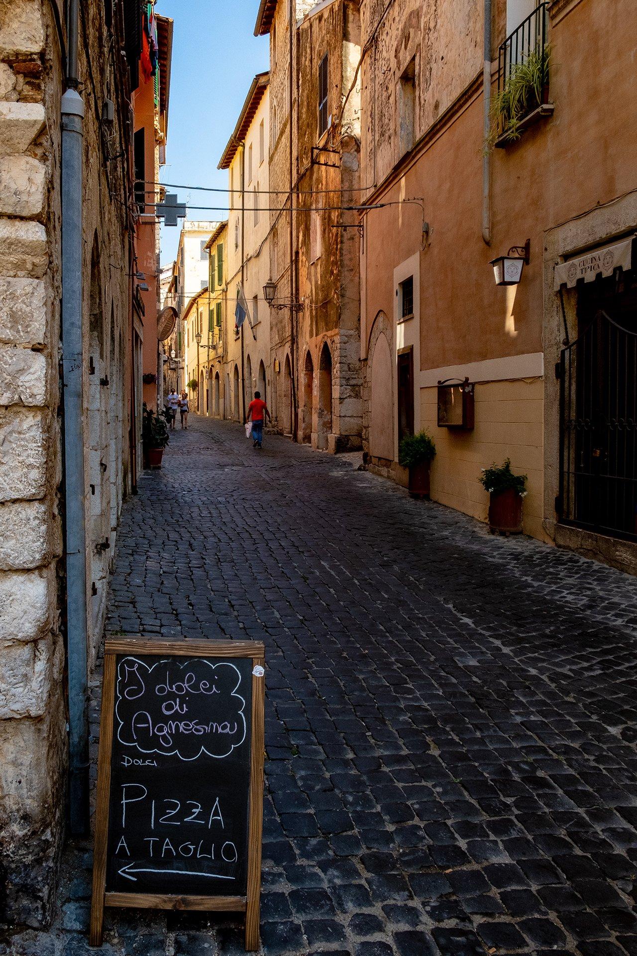 Corso Anita Garibaldi a Terracina