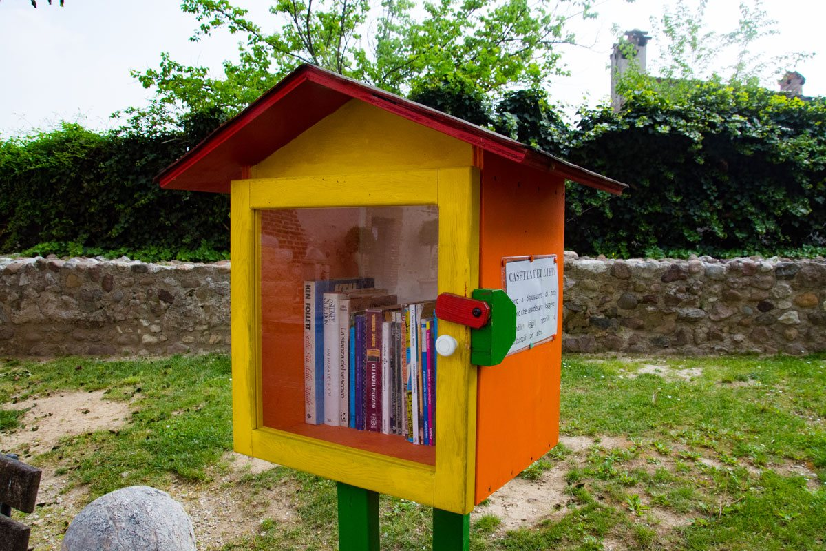 Bookcrossing a Castellaro Lagusello