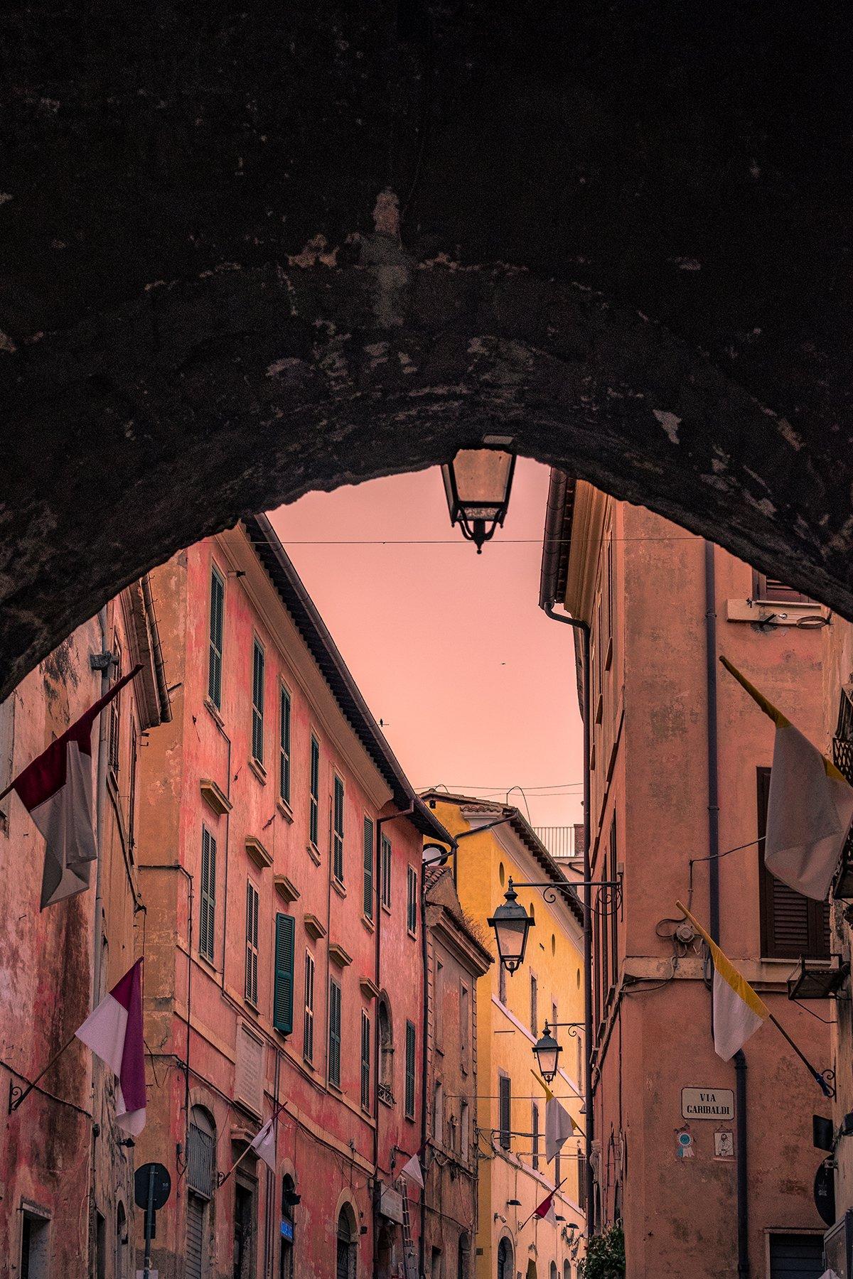 Porta Romana a Priverno