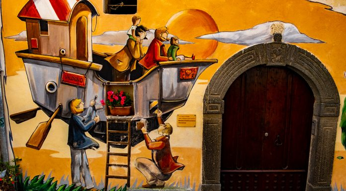 Valogno, il borgo dei murales