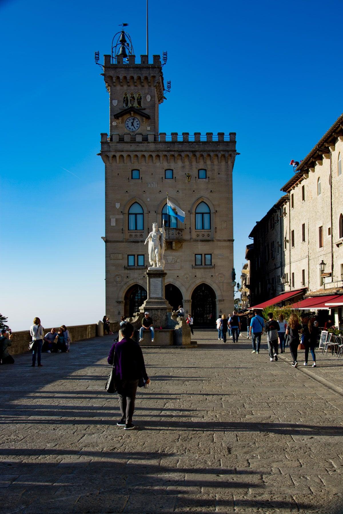 Piazza della Libertà di San Marino