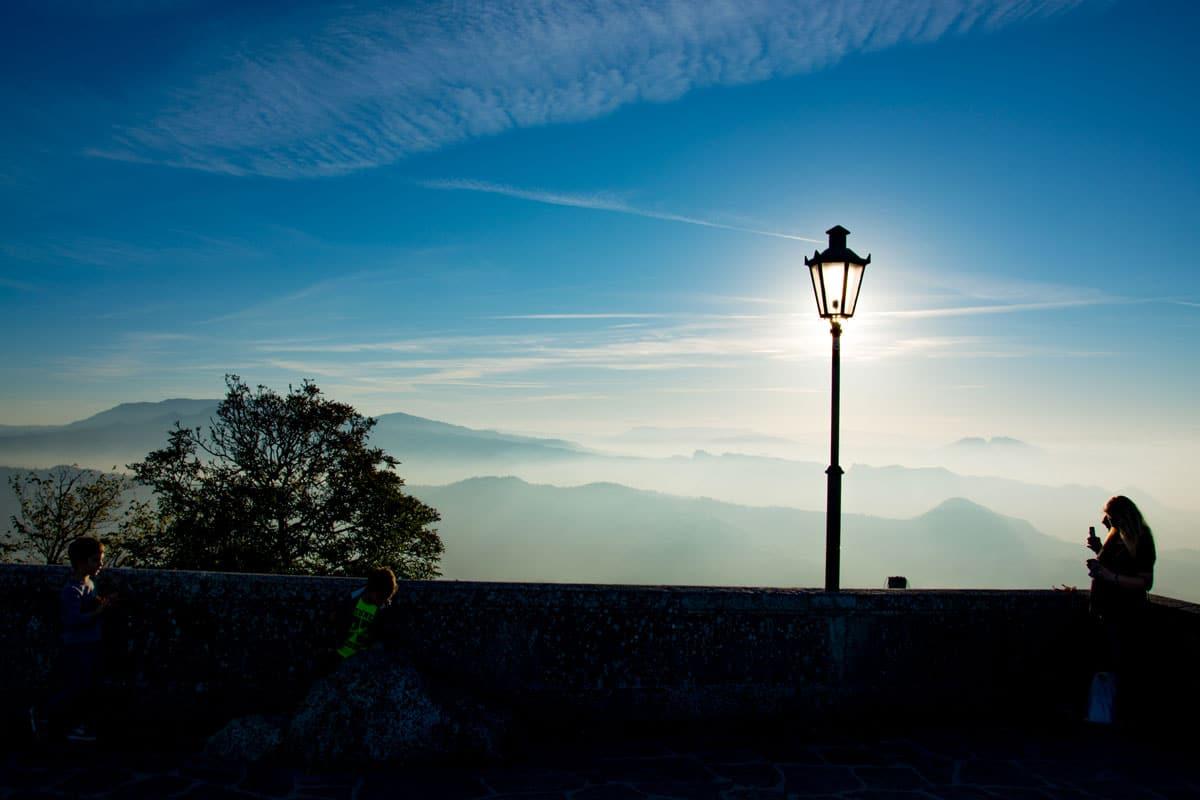 Scorcio mozzafiato San Marino