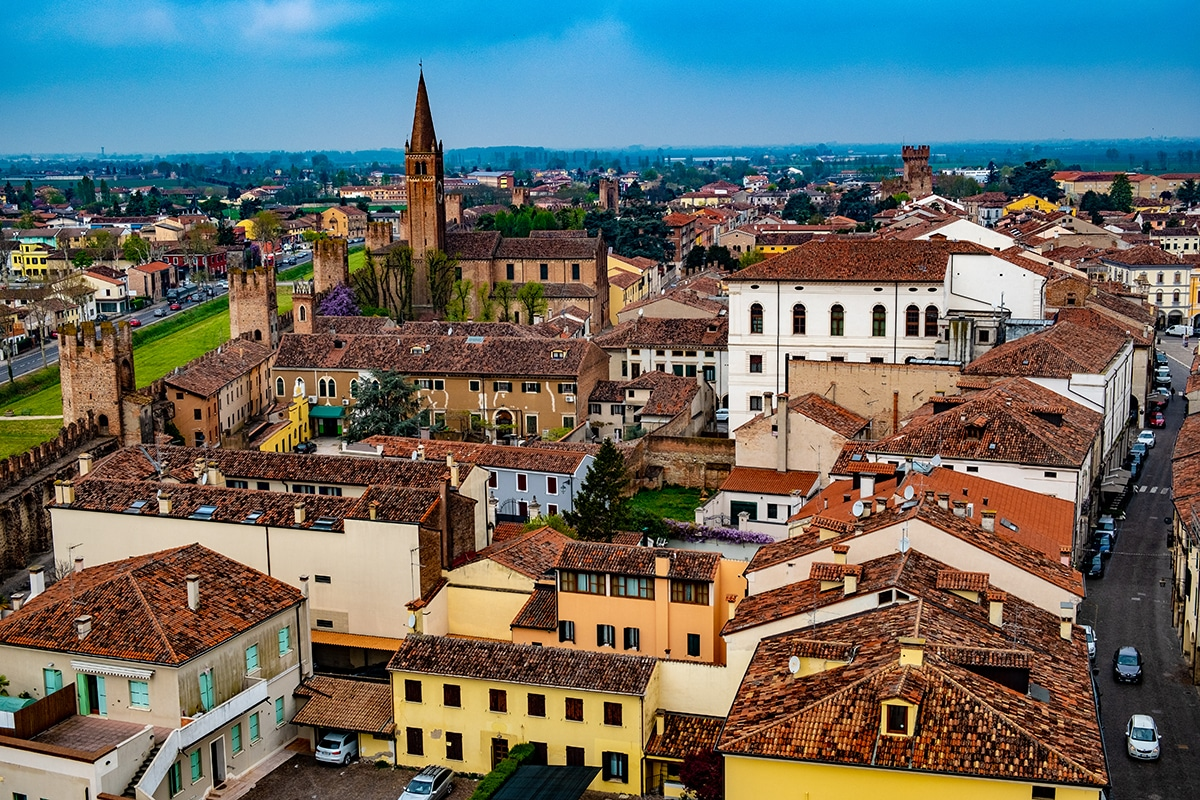 Montagnana vista dal Mastio Ezzelino