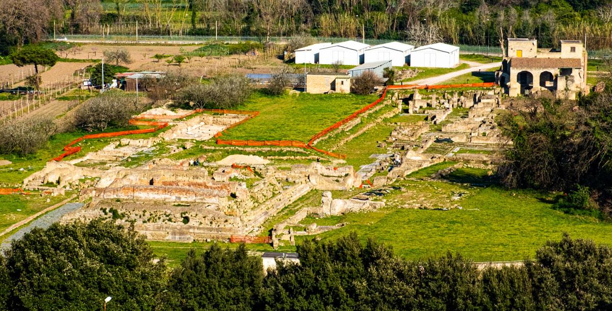 Il Foro- il Capitolium e le Terme