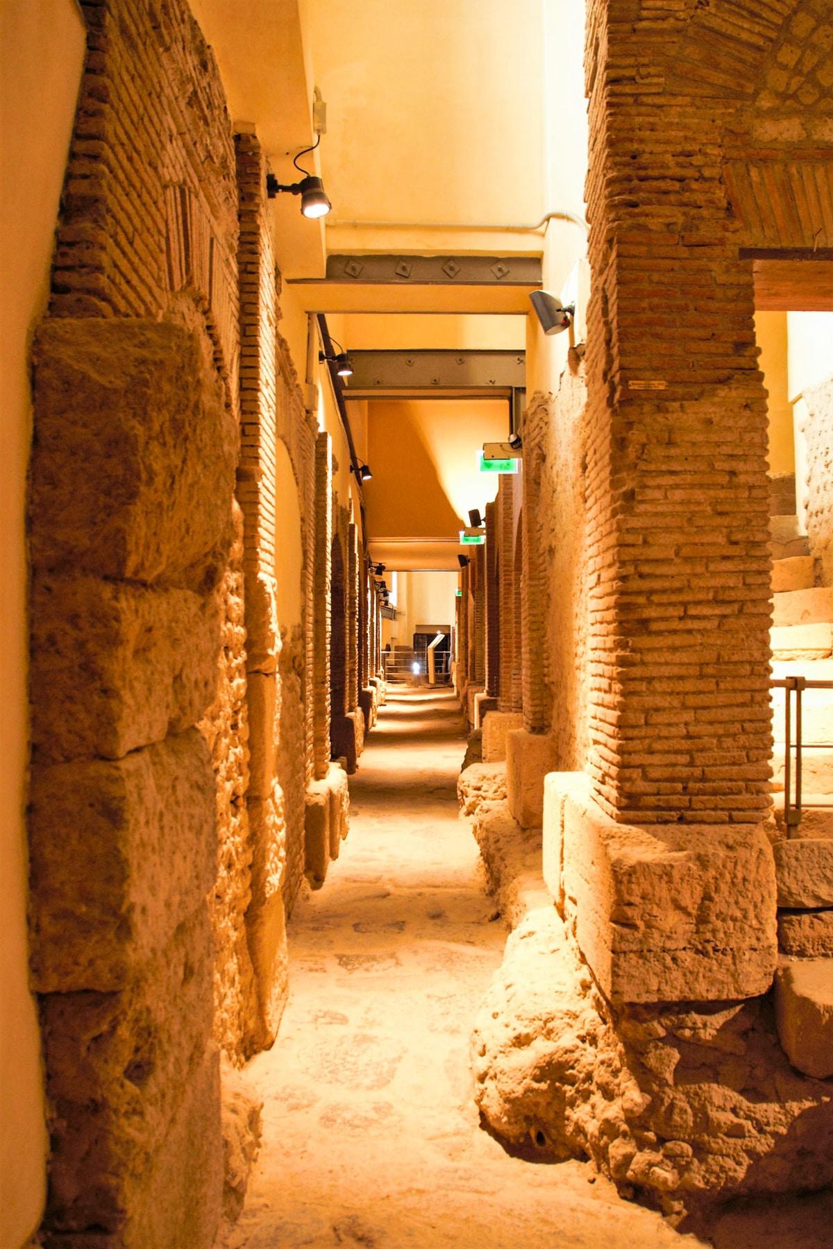 Rione Terra - area archeologica