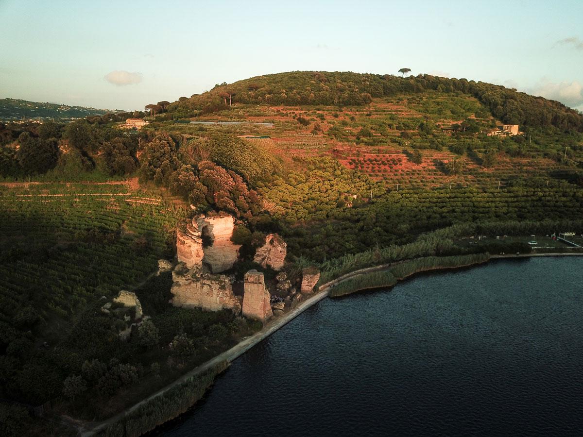 Tempio di Apollo - Lago d'Averno
