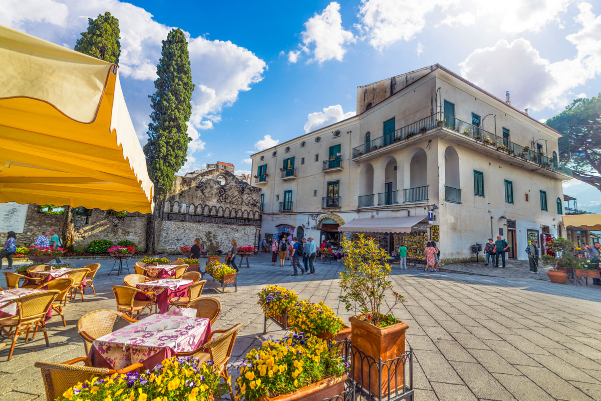 Piazza Duomo di Ravello