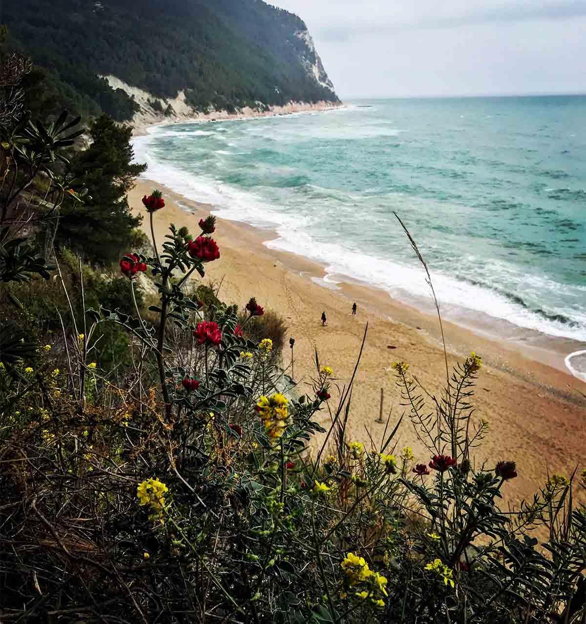 Sirolo, Spiaggia San Michele