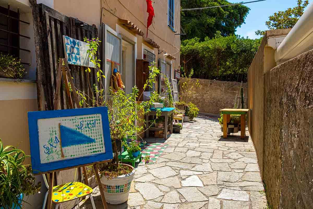 Il vicolo dell'arte a San Nicola Arcella