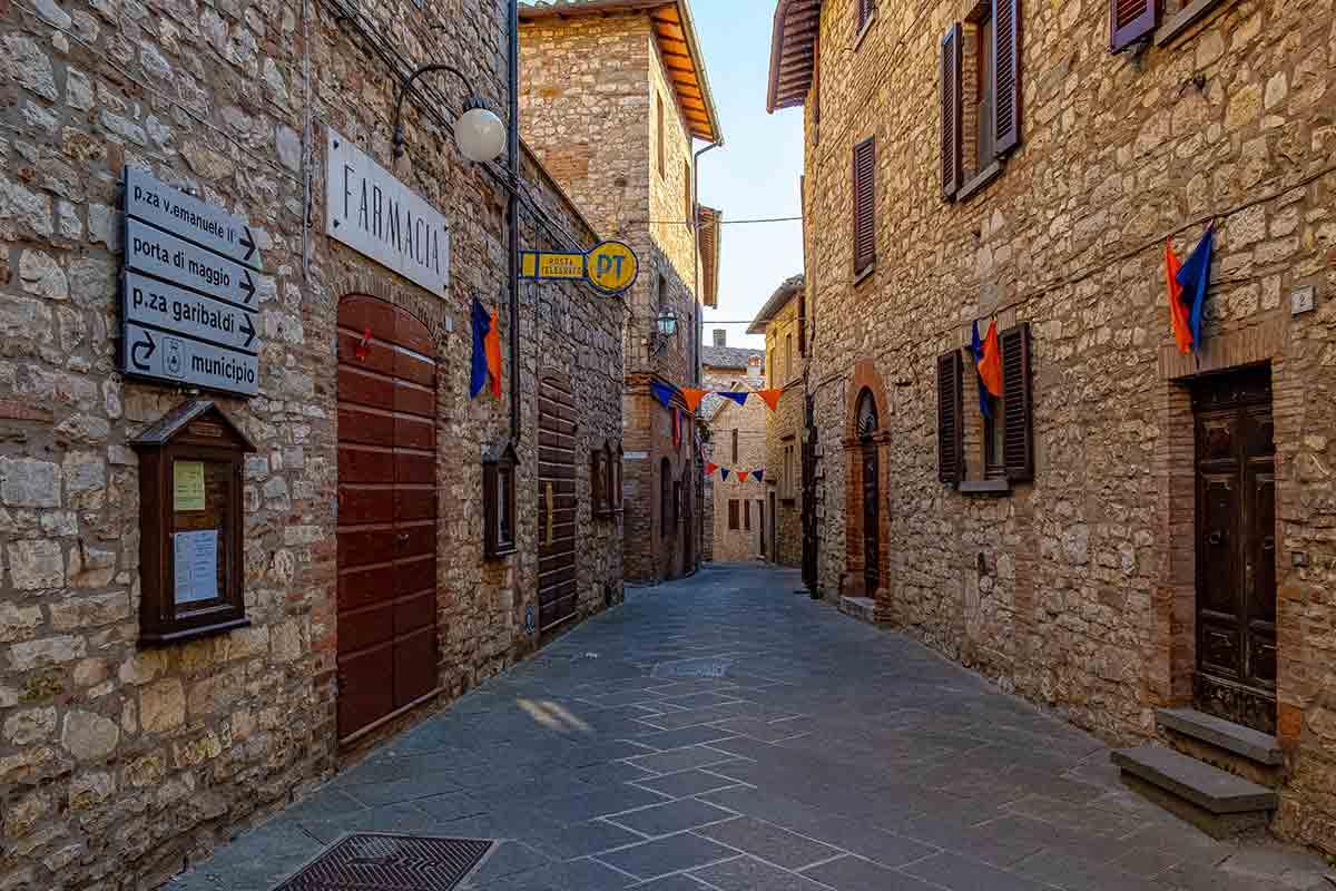 Centro storico Monte Castello di Vibio