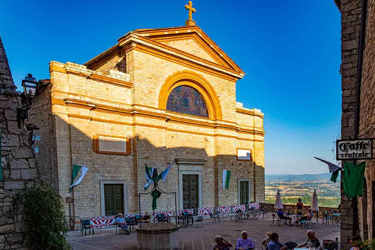 Chiesa San Filippo e Giacomo - Monte Castello di Vibio