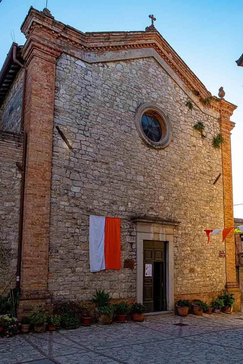 Chiesa Santa Illuminata di Monte Castello di Vibio