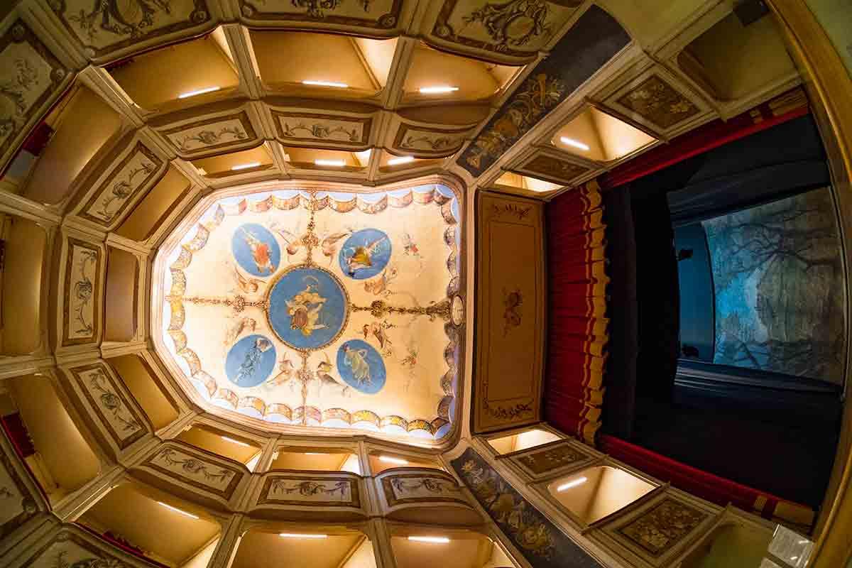 Interno Teatro della Concordia