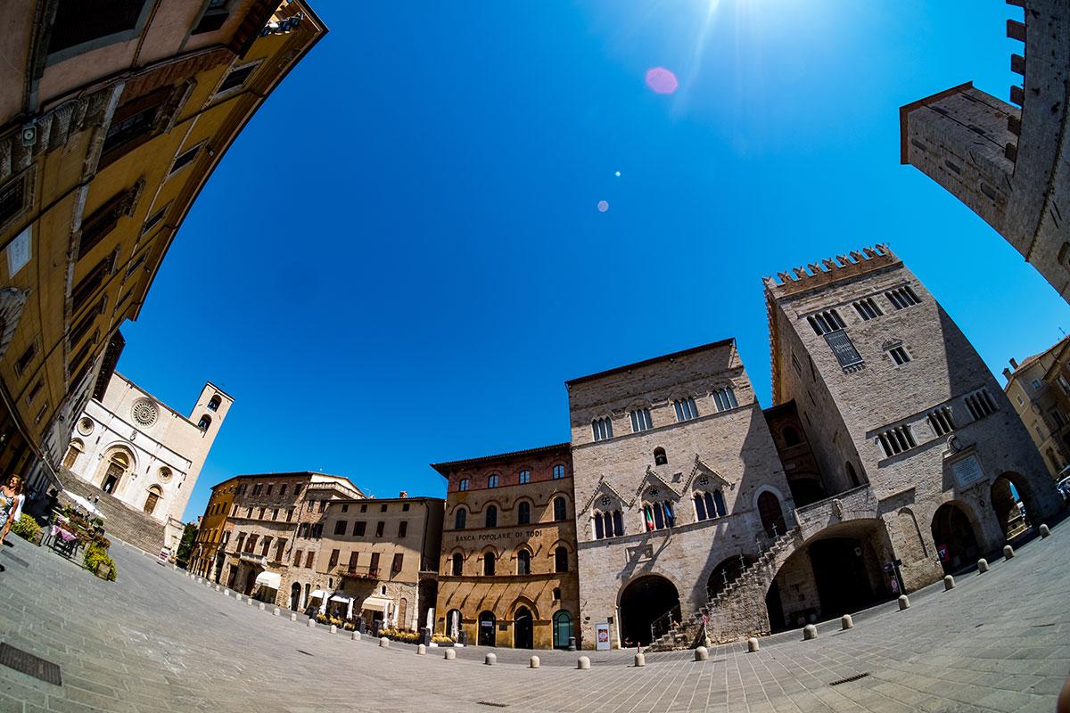 Palazzo del Popolo e Palazzo del Capitano - Todi