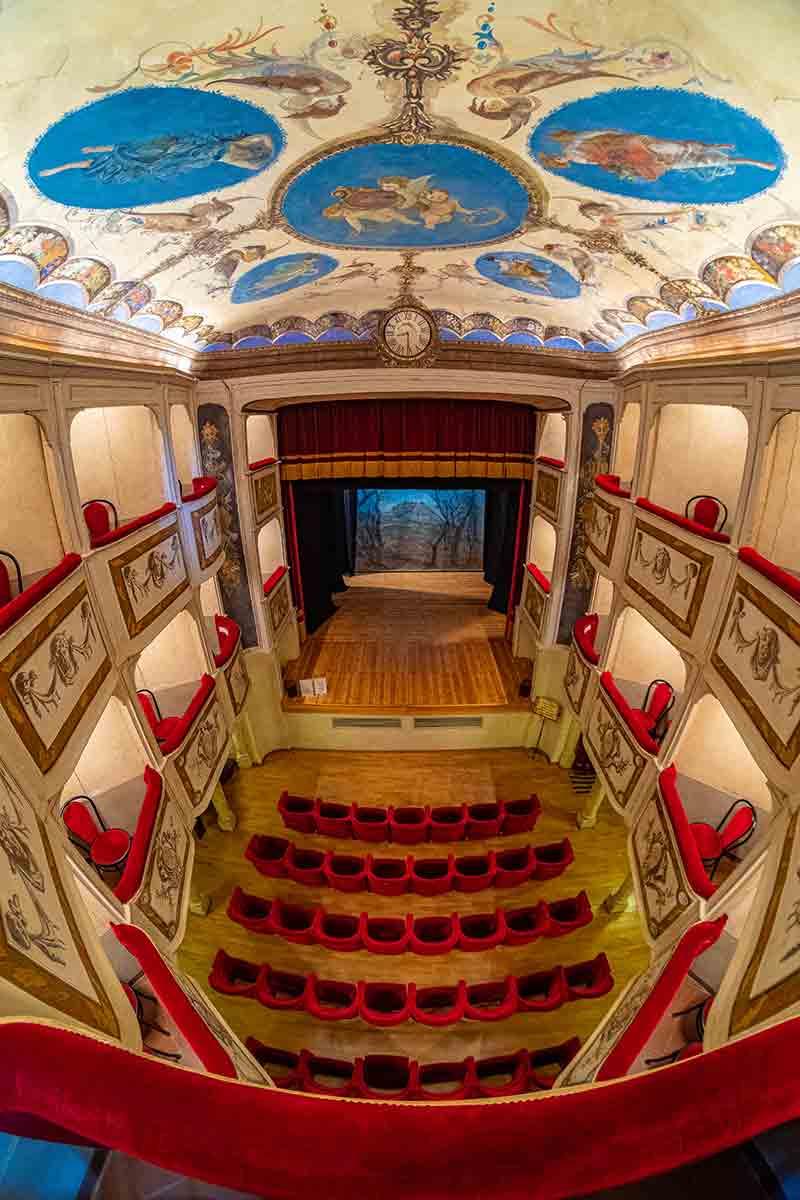 Il Teatro della Concordia - Monte Castello di Vibio