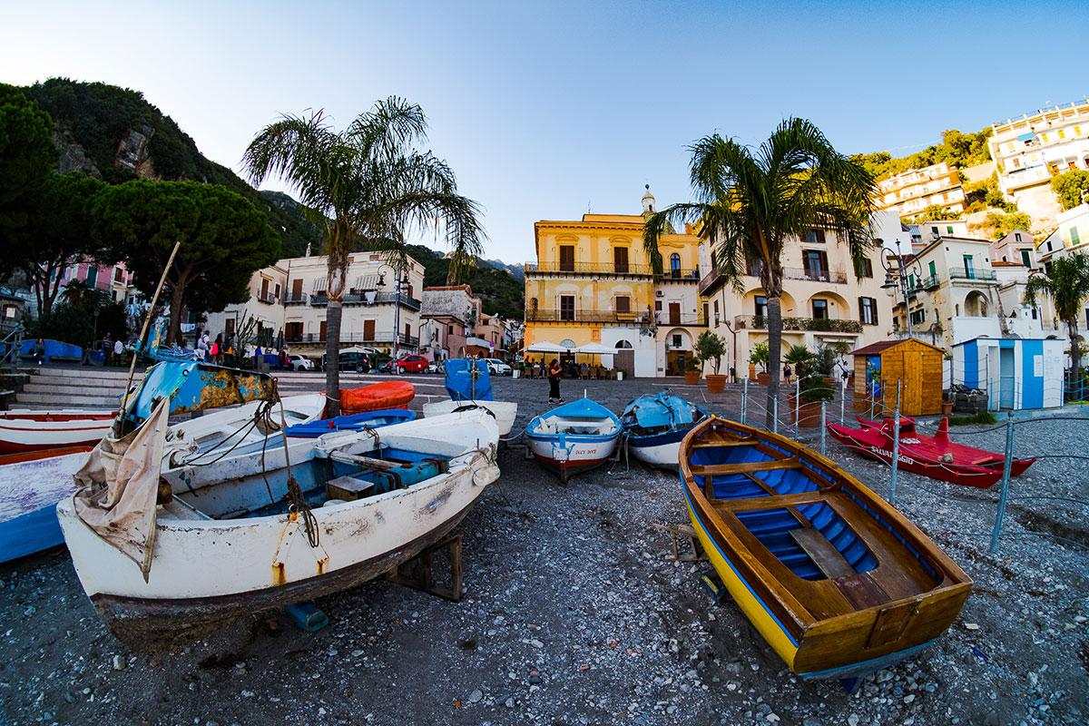 Gozzi Marina di Cetara