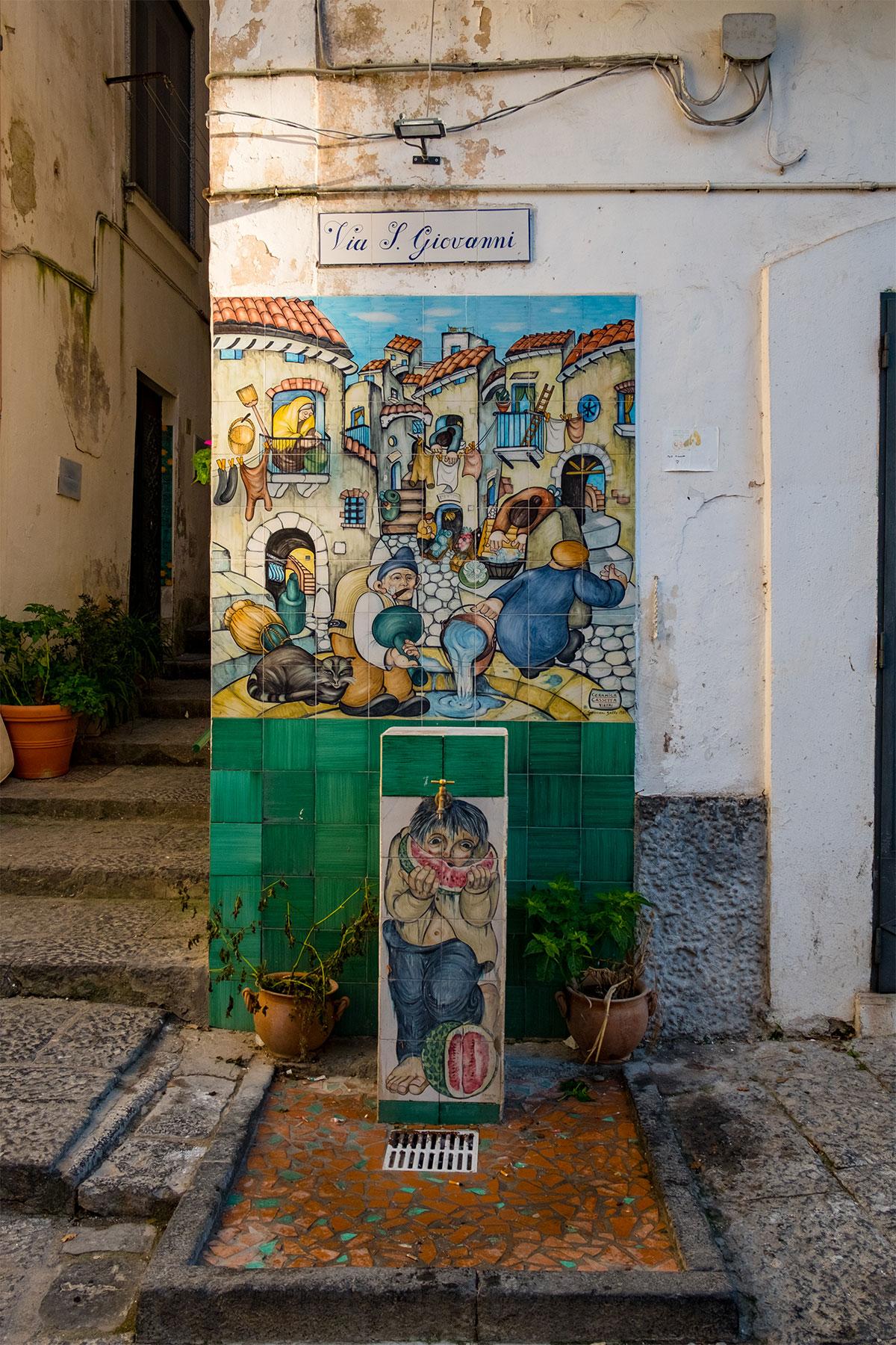 Via San Giovanni Vietri sul Mare